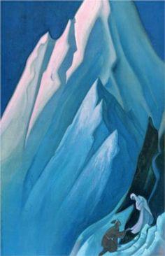 She who leads - Nicholas Roerich