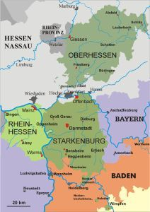 Hesse Prussia ... now Hessen, Germany ... information.