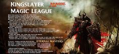 Dungeons and Dragons Encounters: Kingslayer Magic League