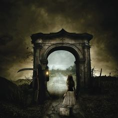 A Work of Fiction - This gives me a kind of life-death/ Wizard of Oz/Alice in Wonderland feel. Goosebumps for this one!!