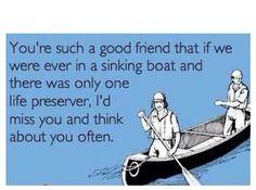 If u come whitewater rafting with us @Mariah jk luv yah :P