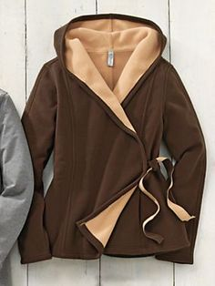 Women's Fleece Wrap Hoodie Jacket | Sahalie