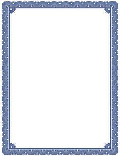 Bordes decorativos de hojas, hojas personalizadas para trabajos, decora páginas. Certificate Background, Certificate Border, Certificate Design, Cute Frames, Gold Picture Frames, Borders For Paper, Borders And Frames, Calligraphy Borders, Frame Border Design