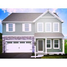 Unveiling another Parade Of Homes entry! This is our Victoria model located at 163 Oaken Way, Myerstown, PA in the Fallen Oak Estates community. Tour online at http://www.houzz.com/projects/1813492//a-practical-family-home-163-oaken-way