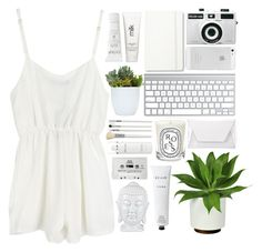 """""""Bright"""" by klajus ❤ liked on Polyvore featuring Holga, Moleskine, H2O+, Natio, Diptyque, Cath Kidston, Elemis, CASSETTE and Rodin Olio Lusso"""