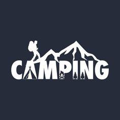 I Love Camping Vacation Mode Hiking Kayaking Fans - Camping Hiking - T-Shirt TeePublic Solo Camping, Kayak Camping, Camping Survival, Survival Food, Hiking Logo, Scouts, Bushcraft Backpack, Hiking Backpack, Camping Wallpaper