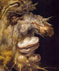 Giuseppe Arcimboldo - Winter (detail)  #arcimboldo #paintings #art