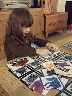 Four quick, easy and cheap preschool activities-Eric Carl is a favorite also do with classical works of art