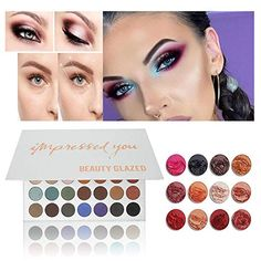 Beauty Glazed 2018 New Makeup Eyeshadow Palette Shimmer Matte Pigments 20 Colors Glitter Smokey Eye Shadows Make Up Powder Kit Carefully Selected Materials Back To Search Resultsbeauty & Health Beauty Essentials