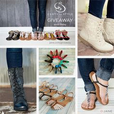 I just entered this AWESOME giveaway for a YEAR of free shoes from Jane.com and Cents of Style! You should enter too!