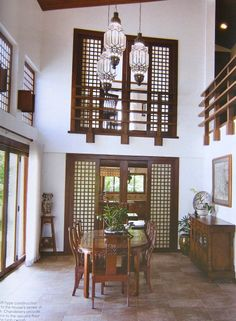 Rest house interior ideas: images about filipino house design on pint Philippine Architecture, Filipino Architecture, Modern Style Homes, Modern House Design, Modern Houses, Filipino Interior Design, Future House, Bali, Bahay Kubo