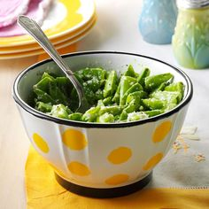 Fresh Sugar Snap Pea Salad Recipe from Taste of Home