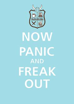 Image result for nanowrimo panic