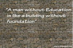 Quote of the Day!  #JISGroup #Education