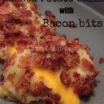 Loaded Mashed Potato Balls with Bacon Bits recipe