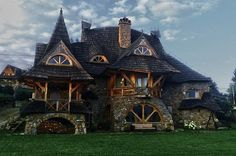 "elf-of-lorien: "" daniwitch: "" voiceofnature: "" Whimsical house "" Wow "" Oh…"
