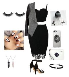 """""""Untitled #7"""" by nadieglaze on Polyvore featuring Isabel Marant, Kate Spade, Lipsy, Bling Jewelry and Miss Selfridge"""