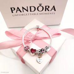 Pandora bracelet valentine'day love bracelet 5 pcs heart charm