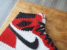 REDUCED Handmade Air Jordan 1 Sneaker String art by SoleStitches