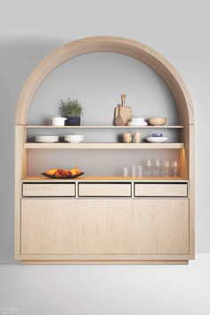 Design Studio Aris Thinks Out of the Box for Its Kitchen Systems for Polarislife Interior Design Magazine, New Interior Design, Interior Designing, Principals Of Design, Kitchen Built Ins, Contemporary Kitchen Design, Bookcase Shelves, Design System, Bathroom Inspiration