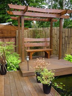 10 Aligned Tips AND Tricks: Garden Fence Clearance Backyard Fence Extension.Fence Ideas For End Of Driveway Garden Fence X Ideas For Yard. Japanese Pergola, Japanese Garden Backyard, Small Japanese Garden, Asian Garden, Japanese Garden Design, Japanese Gardens, Japanese Fence, Large Backyard, Backyard Privacy