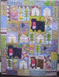 Safari Sunrise Quilt pattern by Trish Harper Designs
