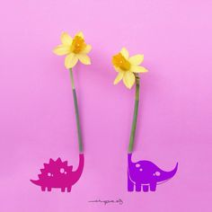 Artist Jesuso Málaga from Malaga, Spain creatively turns flowers & everyday objects into art. He looks at everyday objects (especially flowers) in a totally Pink Wallpaper, Nature Wallpaper, Art Floral, Malaga, Creative Illustration, Illustration Art, Beautiful Symbols, Small Sculptures, Best Iphone Wallpapers
