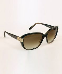 Loving this Green Square Sunglasses on #zulily! #zulilyfinds