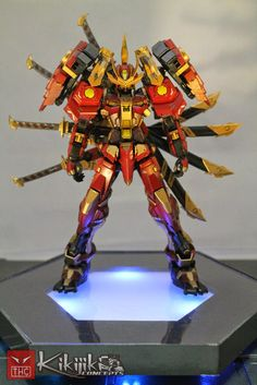 Custom Build: 1/100 Sengoku Astray-Nobunaga V2 - Gundam Kits Collection News and Reviews