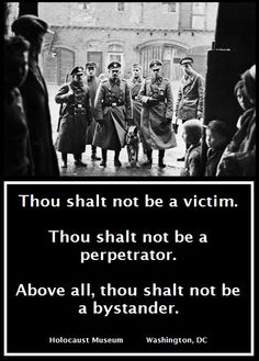 """Words at the Holocaust Museum. THOU SHALT NOT!!! """"We learn from history that we do not learn from history"""" - Georg Hegel"""