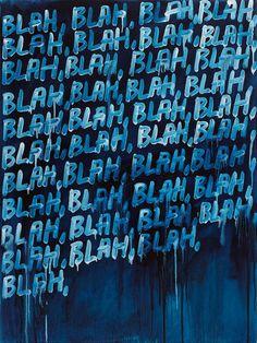 blah blah