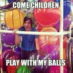 OMFG this is why Jack will never be allowed to be around children lol