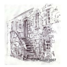 Drawing Projects: Sketch of an Old House