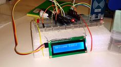 Rfid arduino project with Lcd - YouTube
