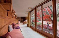 Frank Lloyd Wright home.
