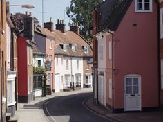 The town where I lived in Woodbridge, Suffolk, England. I loved it!!