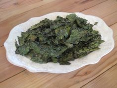 Kale Chips: GF, CF option, Body Ecology Diet, can be Paleo/SCD/GAPS