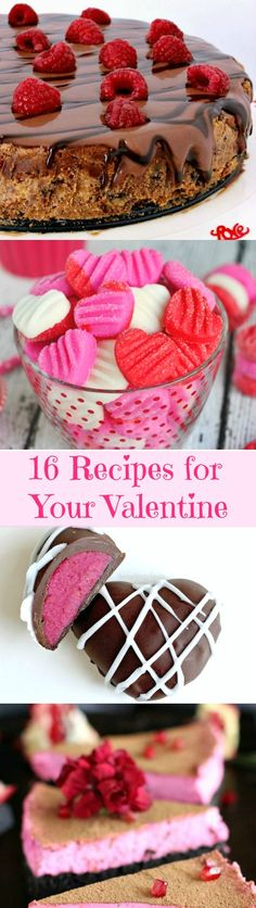 Tons of totally do-able Valentine's Day Sweets!