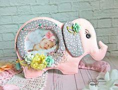 Скрапля: Розовый слон от Галины Степановой.