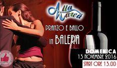 13 Novembre - Pranzo E Ballo Sulle Onde Da Alta Marea http://affariok.blogspot.it/