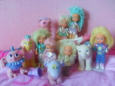 moon dreamers...i played with a couple of these dolls, they must have been hand me downs cause i had no idea what they were! ha ha