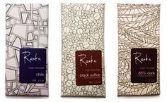Raaka Chocolate Packaging Design