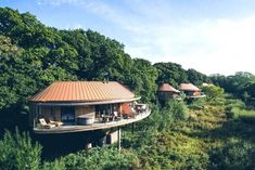 Ten of The Worlds Most Beautiful Tree House Restaurants Forest Hotel, Forest Cabin, Keemala Phuket, Tree House Resort, Beautiful Tree Houses, Hotel Sites, Treehouse Hotel, Luxury Glamping, Country House Hotels