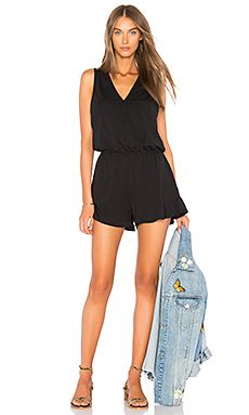 New Bobi Draped Romper online. Find the  great Lovers   Friends Clothing from top store. Sku skoy99399odyj44708