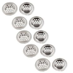 Water and Wood 30mm x 8mm Stainless Steel Mesh Hole Air Vent Louver 10 Pcs *** Visit the image link more details.