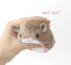 PDF sewing pattern stuffed animal hamster mouse rat par TeacupLion