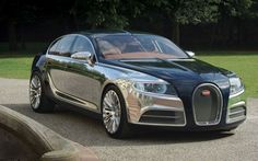 a 4 door bugatti veyron (called the Bugatti 16 C Galibier)