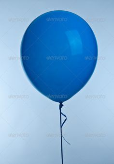 Blue ballon ...  ballon, balloon, baloon, baloons, birthday, blow, blue, bright, celebrate, celebration, clipping, color, colorful, colorfull, decoration, festive, filled, float, fly, happy, inflatable, isolated, object, party, path, pink, plastic, play, purple, red, round, rubber, sky, toy, yellow