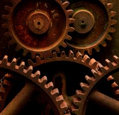 rusty gears by J Cianfrani Photography, via Flickr