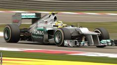 Nico Rosberg of Mercedes AMG Petronas won the #F1 Chinese Grand Prix 2012.